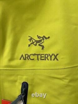 Arcteryx Alpha Veste Sv / Hommes Moyenne / Couleur Glade / T.n.-o.
