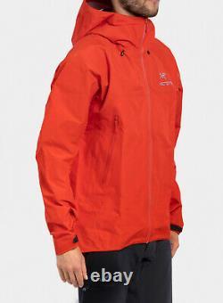 Arcteryx Beta Fl Veste Gore-tex Dynasty Red Size Medium Ar Sl Alpha Rrp £450
