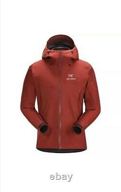 Arcteryx Beta Sl Gore-tex Veste Homme Taille Moyenne Imperméable À L'eau Rouge Pluie Ar Alpha