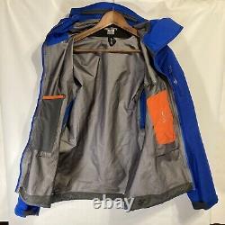 Arcteryx Femme Alpha Sv Shell Jacket Gore-tex Pro, Taille Moyenne Bleue