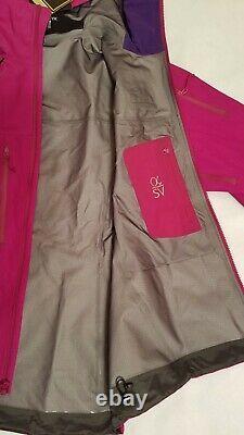 Arcteryx Femme Alpha Sv Shell Jacket Gore-tex Pro, Taille Moyenne, Flambant Neuf