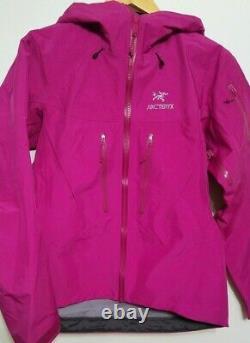 Arcteryx Femme Alpha Sv Shell Jacket Gore-tex Pro, Taille Moyenne, Marque Neuve