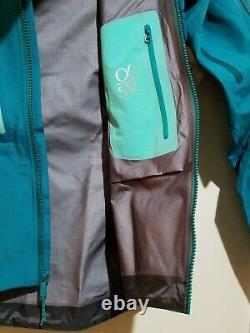 Arcteryx Femme Alpha Sv Shell Jacket Gore-tex Pro, Tout Nouveau Medium