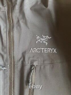 Arcteryx Fission Sv Gore Tex Première Génération Alpha Sv Style Zips Rare Model