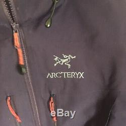 Arcteryx Gore-tex Pro Alpha Sv Veste, Medium, Roxo Violet Avec Des Tags
