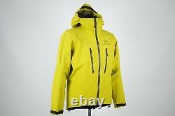 Arcteryx Hommes Leaf Alpha Lt Gore-tex Pro Shell Yellow Jacket Arc'teryx Taille M