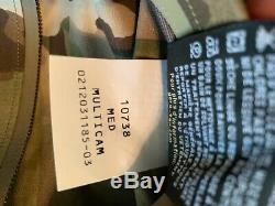 Arcteryx Leaf Hommes Alpha Gore-tex Jacket Multi Cam De Taille Moyenne
