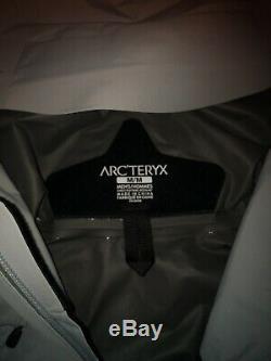 Arcteryx Manteau Alpha Sl Homme Gris Moyen