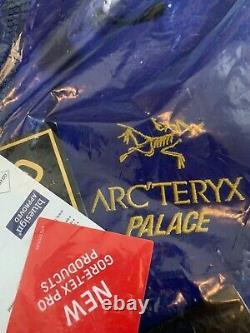 Arcteryx Palace Alpha Sv Jacket Blue Brand Nouveaux Navires Aujourd'hui