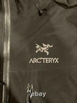Arcteryx Sv Alpha Gore-tex Jacket Taille Moyenne Noir Exc Great Deal Détail 749 $