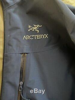 Arcteryx Veste Goretex, Alpha Sl, Medium, Bleu