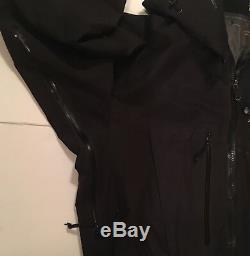 Arcteryx (canada) Veste Alpha Sv Pour Homme Black Medium Gtx Hardshell Euc