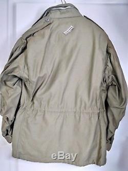 Armée De Terre Américaine Veste M65 Od Vert Moyen Court Alpha Epoque Vietnam