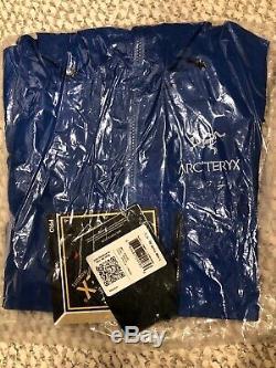 Arteryx Shell Alpha Sv Jacket Avec Des Étiquettes! Couleur Stellaire (bleu) Hommes Taille M
