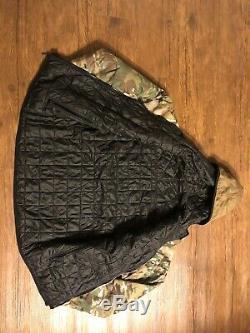 Au-delà De L'habillement Alpha Lochi Veste Taille Réversible Medium Noir Multicam