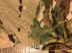 Au-delà De L'habillement Alpha Lochi Veste Taille Réversible Medium Noir Multicam # 2