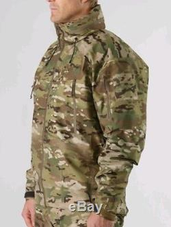 Authentique Arcteryx Leaf Alpha Jacket Gen 2 Multi-cam Medium Prix De Base299 € +