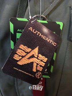 Authentique Veste Matelassée Pour Temps Froid M-65 De Couleur Vert Olive De Alpha Industries, Taille Moyenne