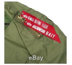 Bait X Alpha Industries X Veste Militaire Réversible Gi Joe Pour Hommes Militaires Hasbro Sdcc