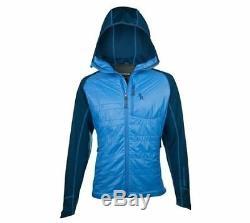 Blouson Alpha Softshell Alpinisme Gamme Brooks Pour Hommes - Bleu Alpin - Moyen