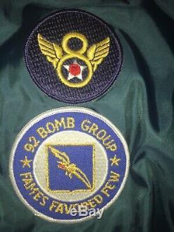 Blouson De Protection Bombardier Alpha Sage B-15 Green Industries Sz Medium