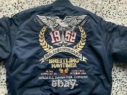 Breitling Alpha Industries Veste Taille M