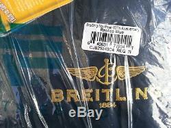 Breitling Veste Navitimer 60th Anniversary Medium Nouvel Alpha Industries Bleu M