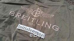 Breitling Veste Pilote À Capuche Moyen Vintage Alpha Industries M Neuve Avec Tags