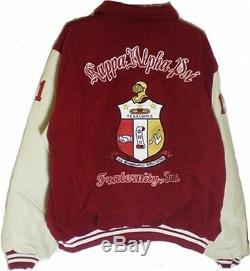 Buffalo Dallas Kappa Alpha Psi Hommes Varsity Veste