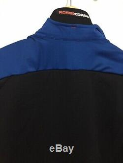 Castelli Alpha Ros Jersey Céramique Bleu Medium
