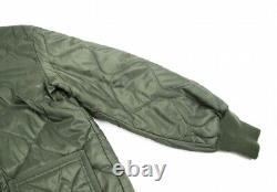 Cdg Comme Des Garcons Retour Logo Imprimé Alpha Liner Jacket Taille M(k-92903)