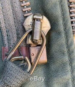 Crisp 1975 Guerre Du Vietnam Alpha Industries M-65 Veste De Campagne Courte Usmc Us Army