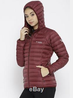 Femmes M Columbia Titanium Alpha Trail Omni Heat De Down Jacket 3d