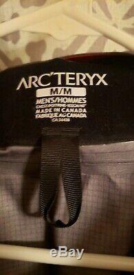 Gray (pilot) Arc'teryx Alpha Sv Veste Homme Taille Moyenne
