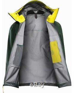 Gris (pilot) Arc'teryx Alpha Sv Hommes Veste Taille Medium
