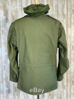 Guerre Du Vietnam Armée Sur Le Terrain Alpha Industries Veste Taille Moyenne Régulière 1968 M65 M-65