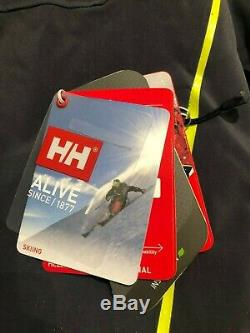 Helly Hansen Alpha 3.0 Graphite Bleu Medium Veste De Ski Des Tn-o Hommes