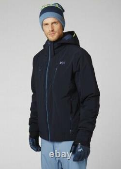 Helly Hansen Alpha 3.0 Veste De Ski Isolée Homme 65551/597 Navy New