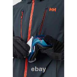 Helly Hansen Alpha 3.0 Veste De Ski Isolée Homme 65551/983 Slate New