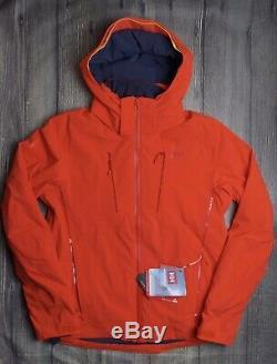 Helly Hansen Alpha 3.0 Veste De Ski Pour Hommes Bnwt Authentique £ 379 Manteau De Ski Orange