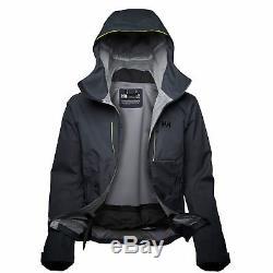 Helly Hansen Alpha Shell Jacket Hommes, Bleu Graphite