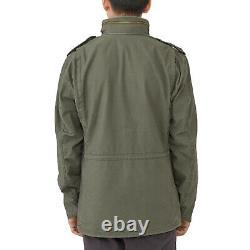 Hommes Alpha Industries M-65 Defender Field Jacket Olive