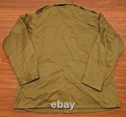 Industries De L'alpha M-43 Veste En Manteau De Campagne Od Olive Drab Green Wwii Military Mint