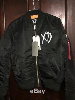 Le Weeknd Starboy Moyen Slimfit Bomber Jacket
