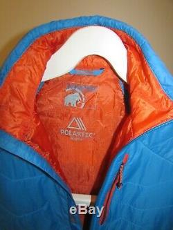 Mammut Eiger Extreme Eigerjoch Veste Légère Pertex Polartec Alpha Cyan 300rp $