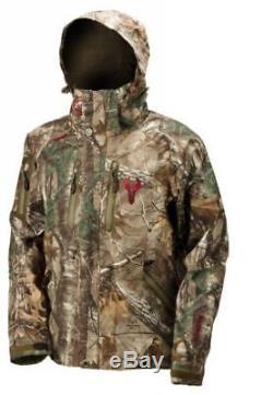 Manteau De Chasse Léger Imperméable Et Respirant Badlands Alpha Avec Capuche, Moyen