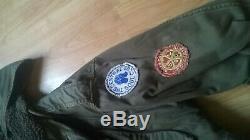 Manteau De Combat Militaire Alpha Industries Parka En Queue De Poisson