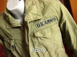Manteau De Veste De Manteau Og-107 1974 De L'armée Américaine M-1965 De L'armée Américaine À Vitesse Moyenne