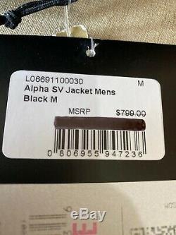 Marque New Arc'teryx Alpha Sv Medium Black Fabriqué Au Canada