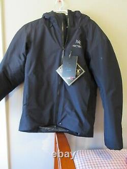 Mens New Arcteryx Alpha Is Jacket Taille Moyenne Couleur Noire